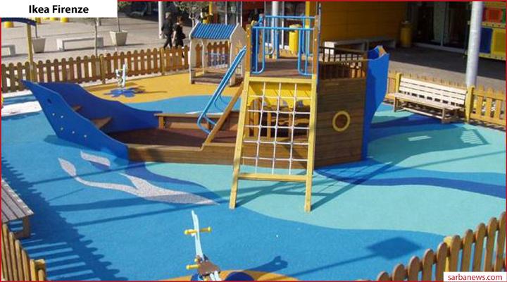 Sarba spa firma un parco giochi ikea su due in italia for Ikea firenze