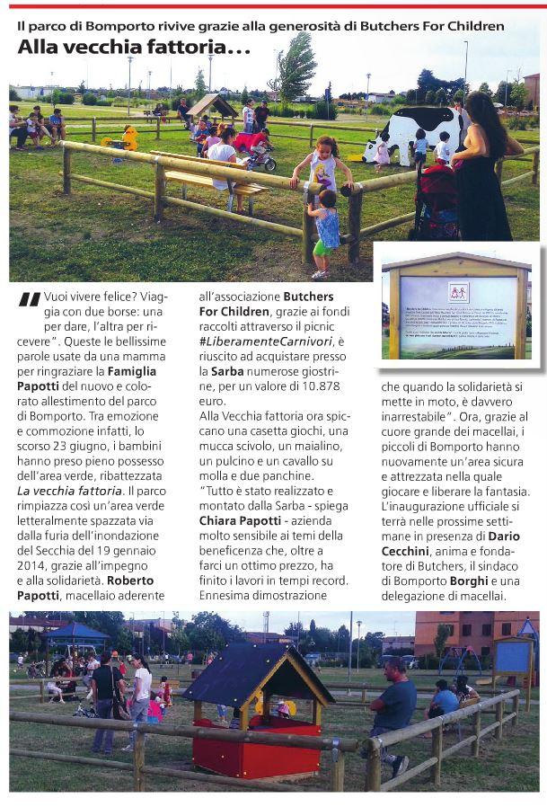 Articolo tempo news butchers for children sarba news for Arredo urbano ancona